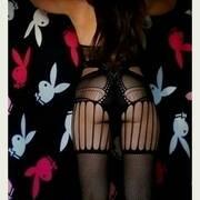 Voilà me con i coniglietti di Playboy